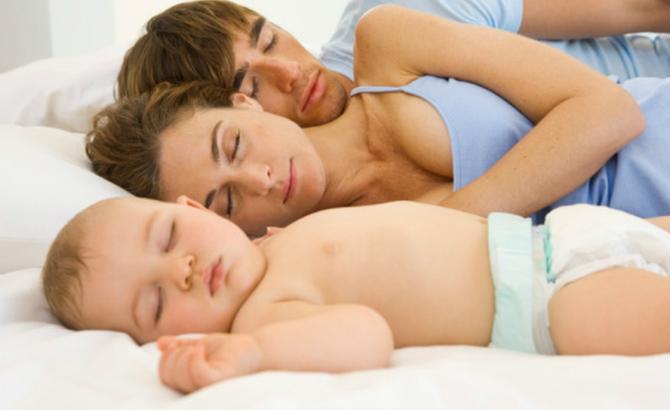 Co-sleeping-Family